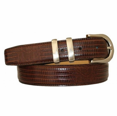 "3017XL Calfskin Leather Dress Belt - 1 1/8"" wide"