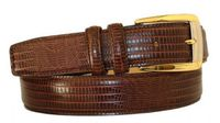 "3046 Italian Calfskin Leather Belt - 1 1/8"" wide"