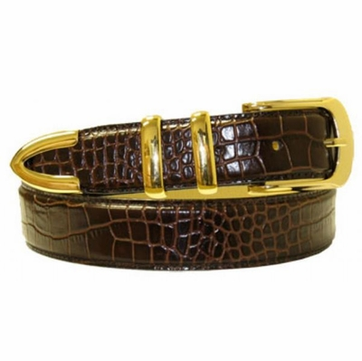 "3059 Calfskin Leather Dress Belt - 1 1/4"" wide"