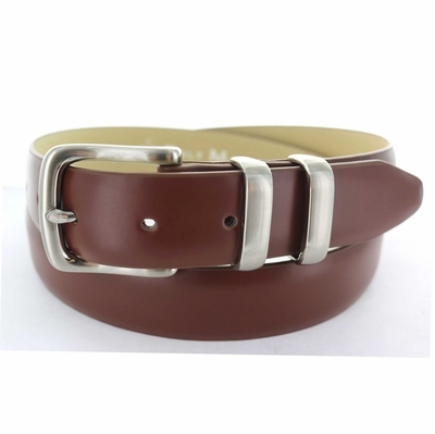 "3078 Dress Leather Belt - 1 1/4"" wide"