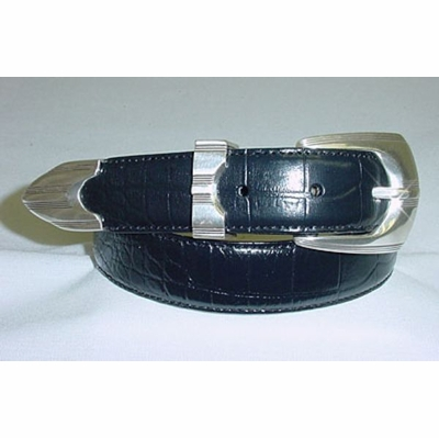 308 Men's Italian Calfskin Leather Dress Belt