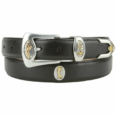 "3095 Golf It Fullerton Genuine Leather Belt  1 1/8"" wide"