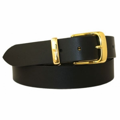 "3184 Full Griain Leather Dress Belt - 1 1/4"" ide"