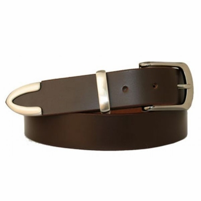 3202 Casual  /Dress Full Grain Leather Belt - 1 1/4""