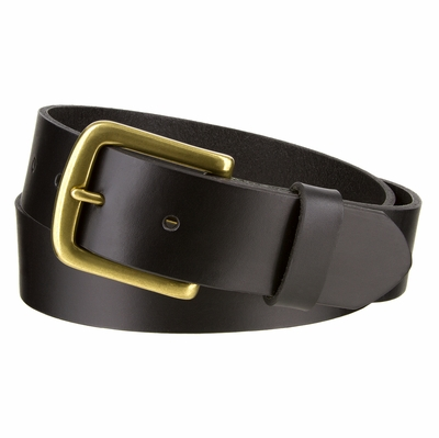 "3212 Casual Full Grain Leather Belt - 1 3/8"" wide"