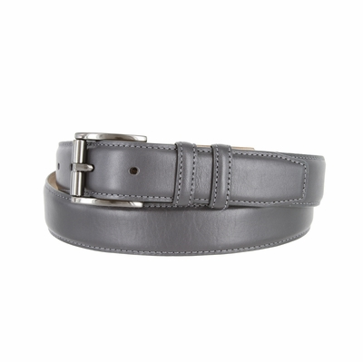 "3215 Men's Roller Calfskin Leather Dress Belt - 1 1/4"" wide"