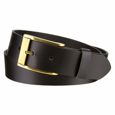 "3216 Men's Leather Belt - 1-3/8"" (35mm) Wide"