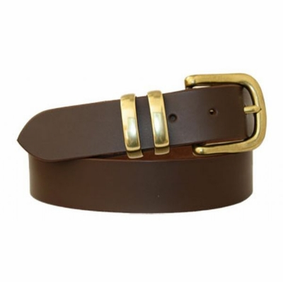 "3234 Casual Full Grain Leather Belt - 1 3/8"" wide"