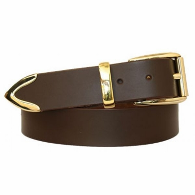 "3246 Casual Full Grain Leather Belt - 1 3/8"" wide"