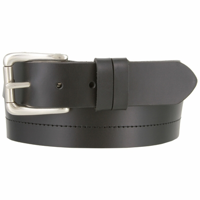 "3259 Casual Dress Leather Belt Made in USA 1 3/8"" wide"