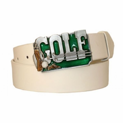 "3285 Golf Casual Full Grain Leather Belt - 1 1/2"" wide"