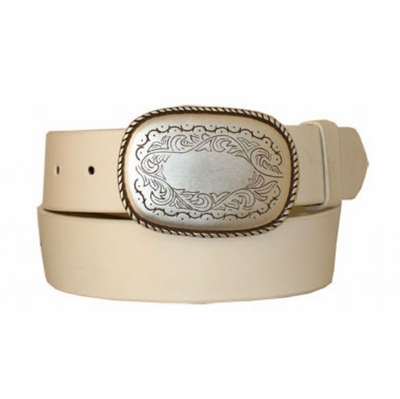 "3286 Casual Genuine Leather Belt - 1 1/2"" wide"