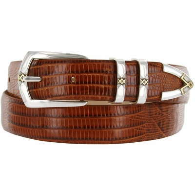 "3304 Italian Calfskin Leather Dress Belt - 1 1/8"" wide"