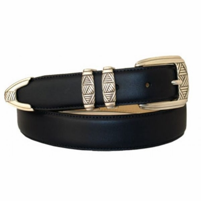 "3305 Leather Dress Belt - 1 1/8"" wide"