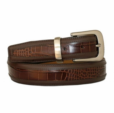"3416 Men's Leather Dress Belt - 1 3/8"" wide"