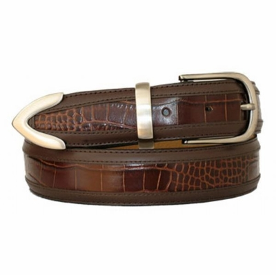 "3426 Leather Dress Belt - 1 3/8"" wide"