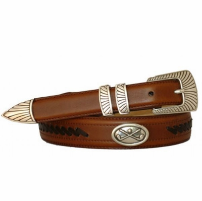 3447 Golf Western Dress Leather Belt