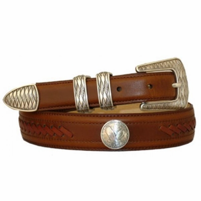 3492 Western Lacing Dress Belt