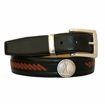 "3500 Lacing Concho Belt - 1 3/8"" Wide"