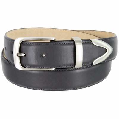 "3507 Men's Genuine Smooth Casual Dress Leather Belt - 1 3/8"" Wide"