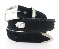 "3588 Fullerton Golf Suede Leather Dress Belt - 1 3/8"" wide  - 5 Colors Available"
