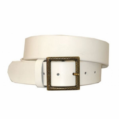 "3569 Casual Leather Belt - 1 1/2"" wide"