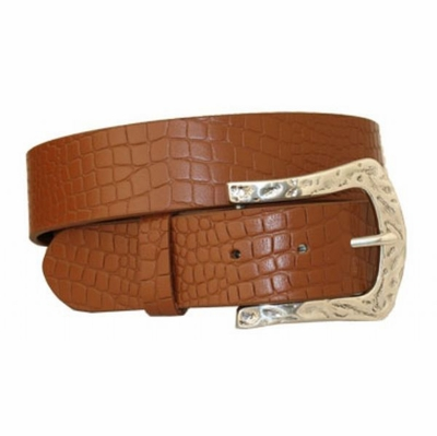 "3573 Full Grain Leather Belt - 1 1/2"" wide TAN"
