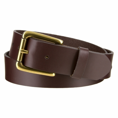 "3616 Roller Casual Smooth Leather Dress Belt - 1 3/8"" wide"