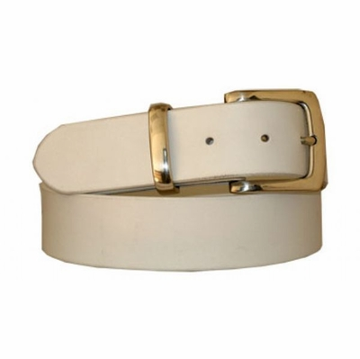 "3681 Casual Leather Dress Belt - 1 1/2"" wide"