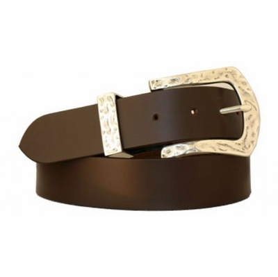 "3648 Casual Full Grain Leather Belt - 1 1/2"" wide"