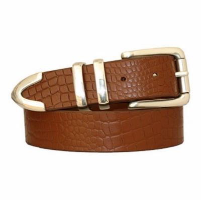 "3723 Full Grain Leather Belt -  1 3/8"" wide"