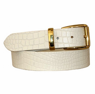 "3798 Full Grain Leather Dress Belt - 1 3/8"" wide"