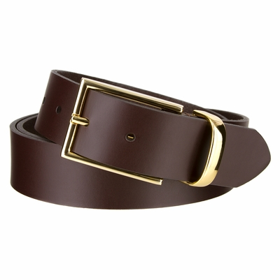 "3799 Dress Leather Belt - 1 3/8"" wide"