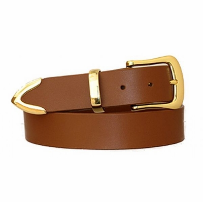 "3806 Full Grain Leather  Belt - 1 3/8"" wide"