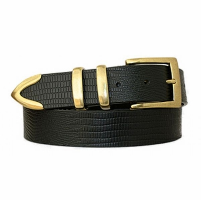 "3812 Men's Casual Leather Belt - 1 3/8"" wide"
