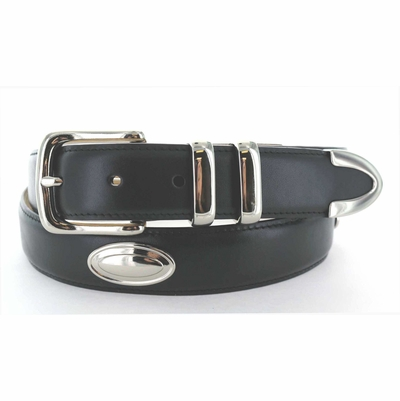 "3840 Italian Calfskin Lather Belt - 1 1/4"" wide"