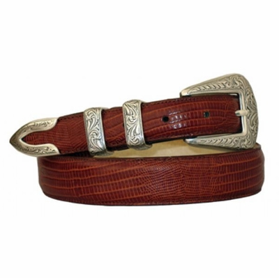 3881 Dress Belt Western Buckle Style