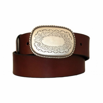 "3888 Western Leather Belt - 1 3/4"" wide"