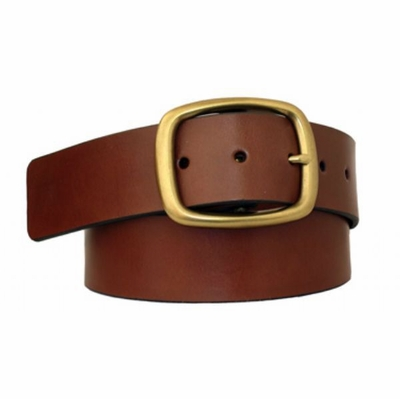 "3894 Casual Full Grain Leather Belt - 1 3/4"" wide"