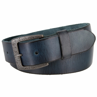 "3896 Vintage Full Grain Cowhide Leather Casual Dress Belt 1-1/2"" Wide - 5 COLORS AVAILABLE"