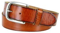 "3898 Vintage Full Grain Cowhide Leather Casual Jeans Belt 1-1/2"" Wide - 5 COLORS AVAILABLE"