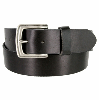 "3899 Vintage Full Grain Cowhide Leather Casual Jeans Belt 1-1/2"" Wide 5 Colors Available"
