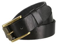 "3909 Grinder Brass Men's One Piece Full Leather Casual Jean Belt 1-1/2"" Wide"