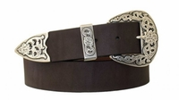 "3999 Western Belt - 1 1/2"" BROWN"