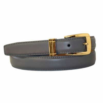 "4015 Women's Calfskin Leather Dress Belt  - 1"" wide"