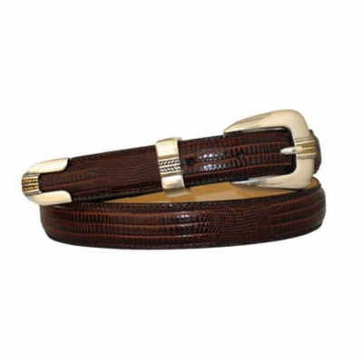 "4022 Dress Leather Belt - 1"" wide"