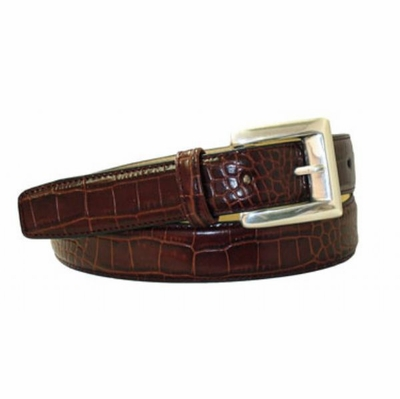 "4045 Women's Dress Leather Belt - 1 1/8"" wide"