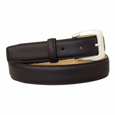 "4058 Women's Dress Calfskin Leather Belt - 1 1/8"" wide"