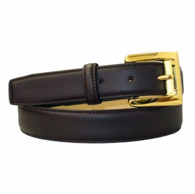 "4076 Dress Leather Belt - 1 1/8"" wide"