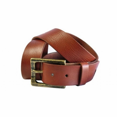 "4172 Casual Leather Belt - 1 1/2"" wide"